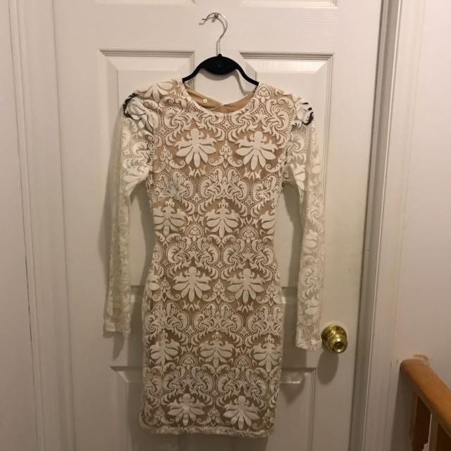 H&M Damask Dress