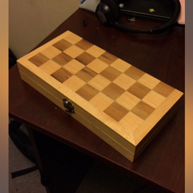 Homemade Chessboard
