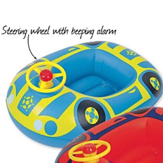 Inflatable Boat Pool Toy