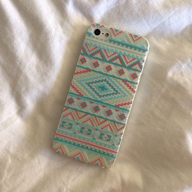 iPhone 5/5s/SE Tribal Print Case