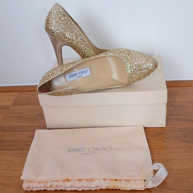Jimmy Choo - Victoria Pump - Authentic