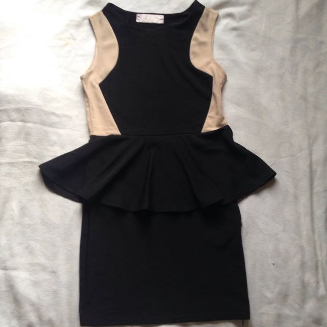 Jrep Peplum Dress [NEW]