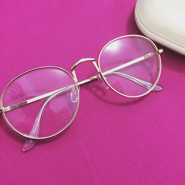 Kacamata Frame Walter Gold