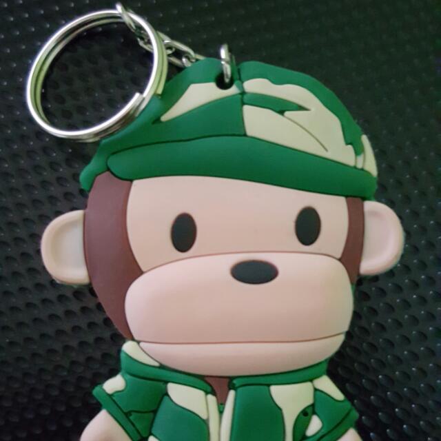 Key Chain Baby Milo Army