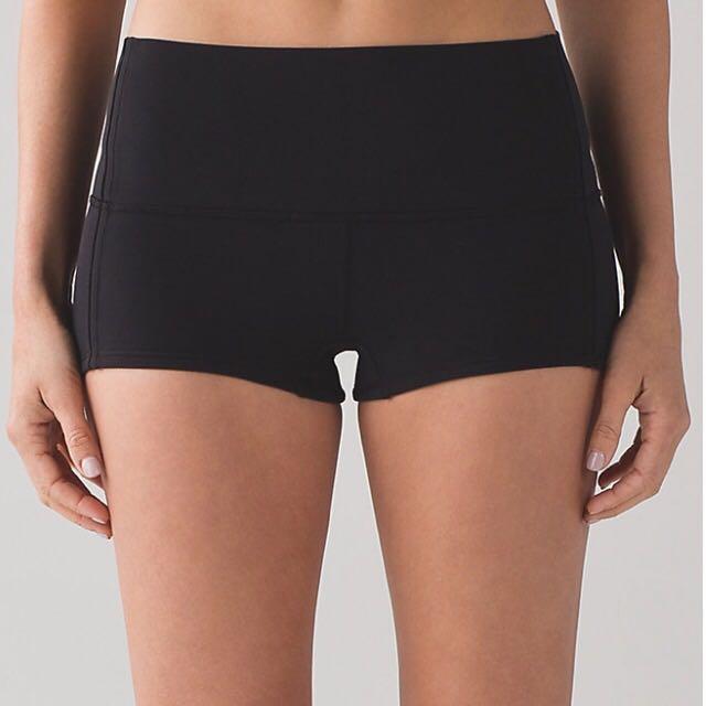 Lululemon Brand New High-waisted Shorts