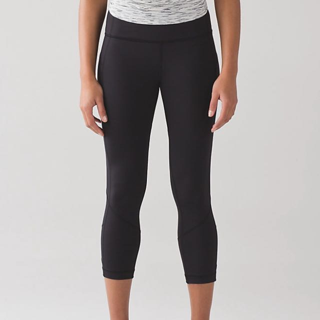 *REDUCED* Lululemon Pace Rival Crop Size 6