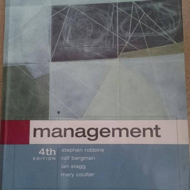 Management 4th Edition Textbook, Unisa