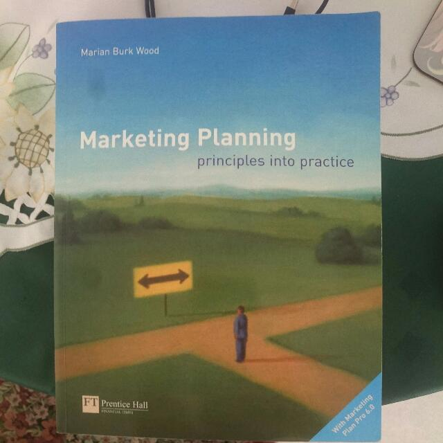 Marketing Planning Principles Into Practice, Unisa Marketing Course Textbook