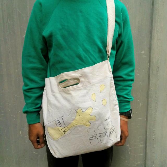 'MILK' Sling Bag