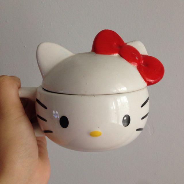 Mug Keramik Hello Kitty Authentic Ori