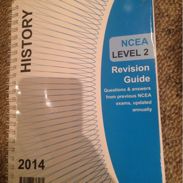 NCEA level 2 history book
