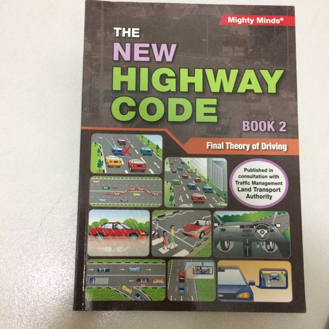 New Highway Code Book 2 Final Theory Of driving FTT