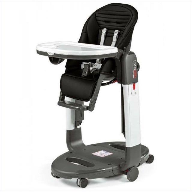 Brand New! Peg Perego Tatamia Swing+High Chair Black