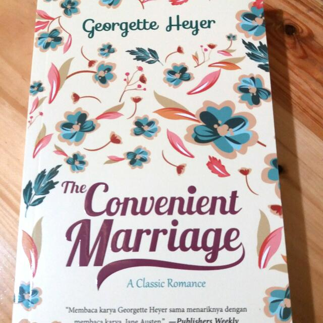 Novel The Convenient Marriage (Georgette Heyer)