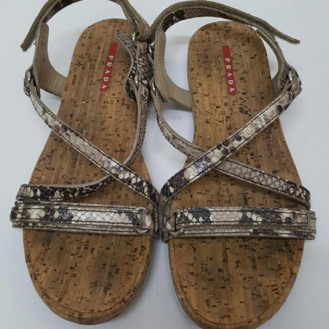 Original Prada Sandals