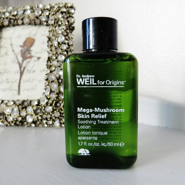 Origins Dr Weil Mega Mushroom Soothing Relief Treatment Lotion