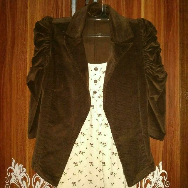 Outer Blazer Brown