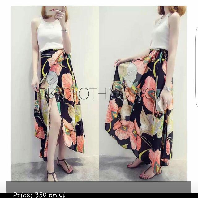 Pair: Top and Maxi Skirt