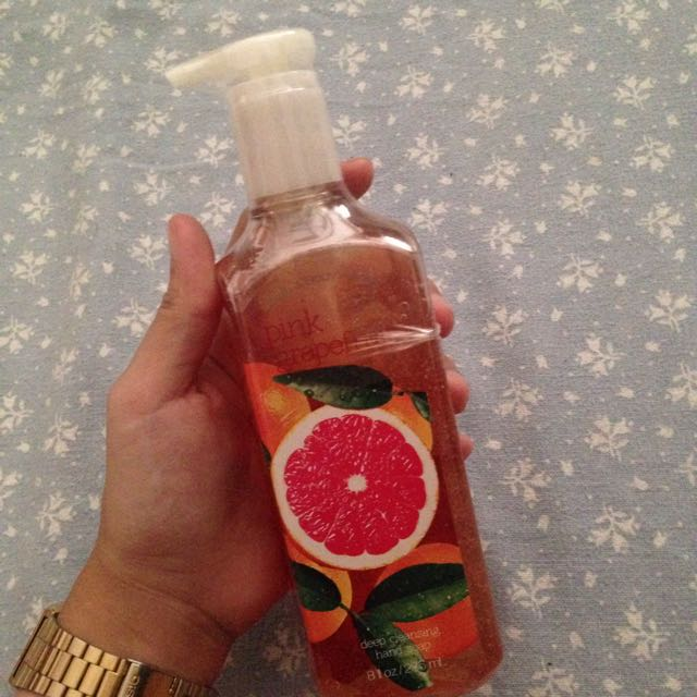 Pink Grapefruit Hand soap