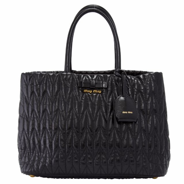 Preowned Miu Miu Vitello Shine Tote Bag - RN1096 (COB0000372 ... 41f4f6f61ec00