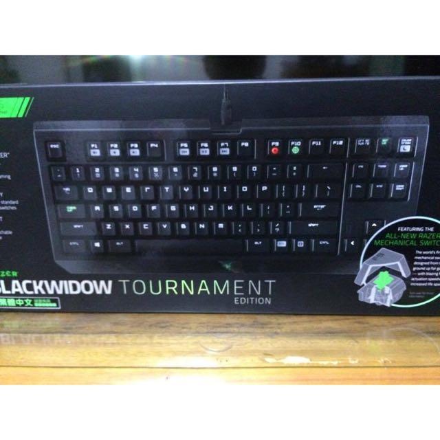 Razer 雷蛇 黑寡婦 蜘蛛 2014版 競技版 電競 87鍵 綠軸 橘軸 機械式鍵盤