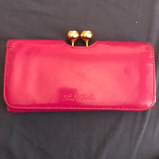 Red Baker Wallet
