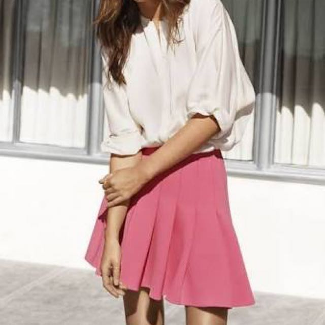Size 4 H&M Pink Skirt
