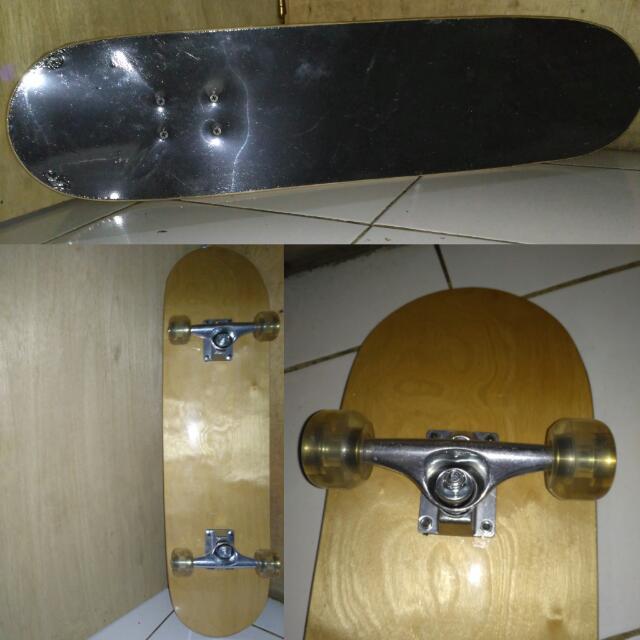 Skateboard Maple Hitam Polos Murah Dewasa Griptape Sports Other Equipment On Carousell