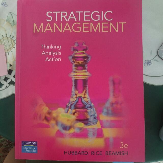 Strategic Management Third Edition, Unisa Management Course Textbook