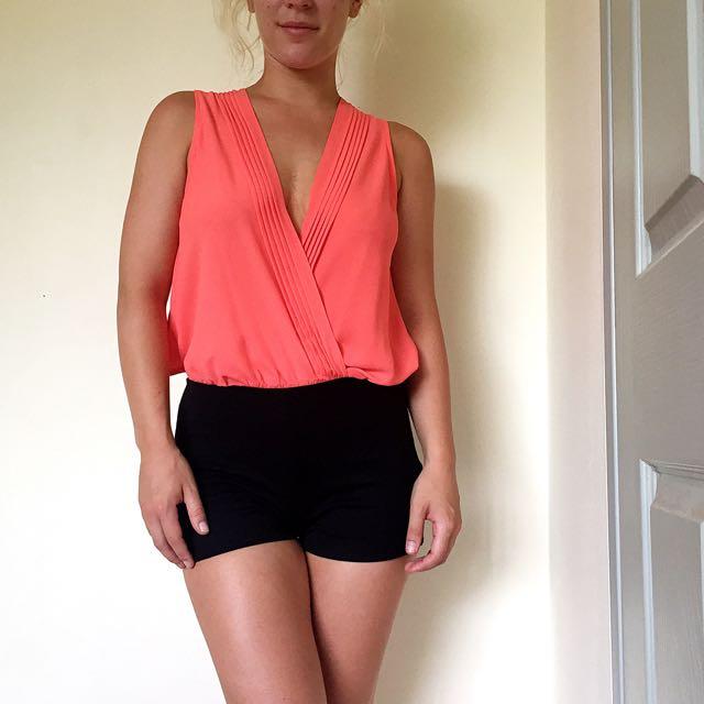 Tangerine Bodysuit