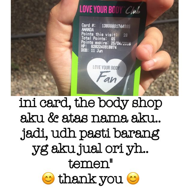 the body shop oringinal ❤