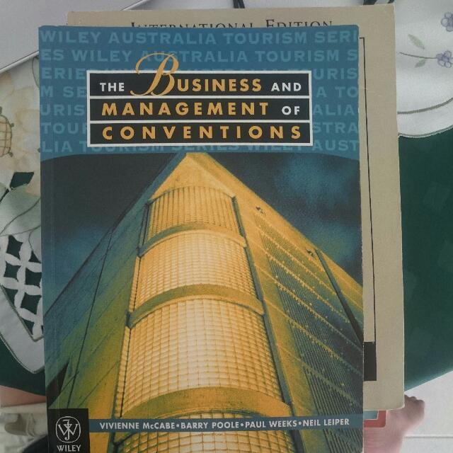 The Business And Management Of Conventions, Unisa Tourism And Event Course Textbook