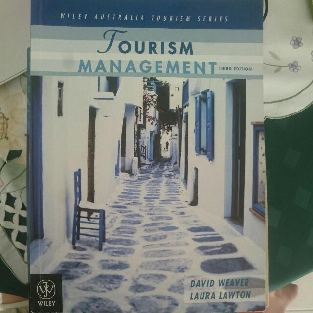 Tourism Management Third Edition, Unisa Tourism And Event Management Course Textbook