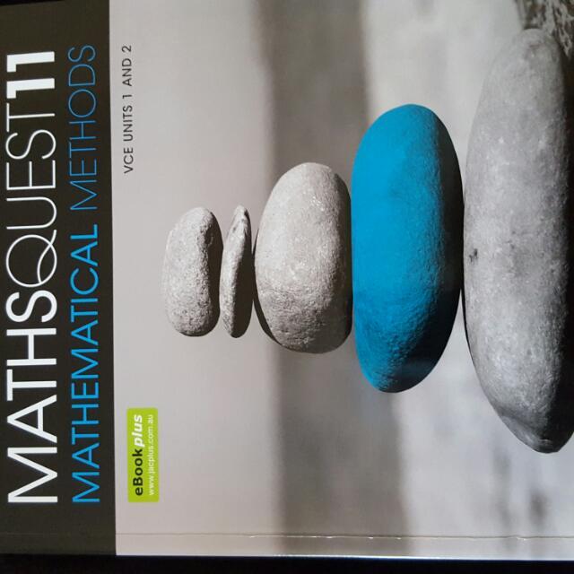 VCE maths textbook