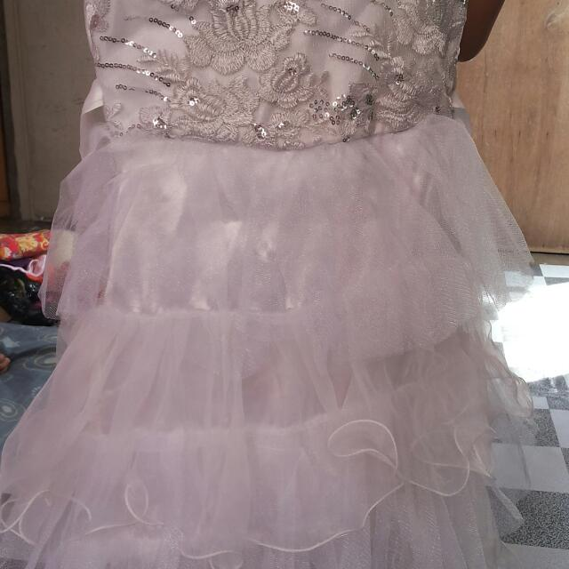 White Gown For Girls