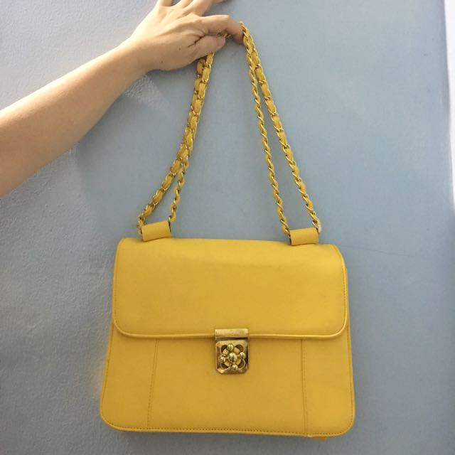 Yellow Sling Bag
