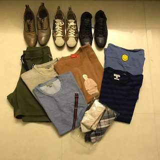 mens Clothes And Shoes For Sale!