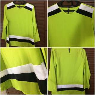 Green Electric Blouse (New)
