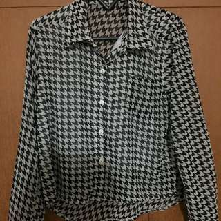 houndstooth shirt