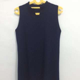 Mini Dress Bkk Navy