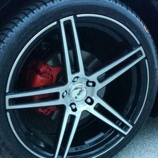 """R-spec 20"""" Rims Used Needs Tires"""