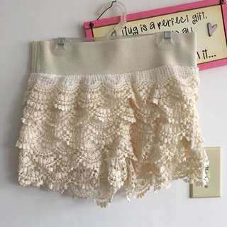 Sirens Lace Shorts