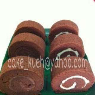 Kaya, Chocolate Swiss Roll Cake