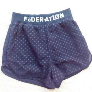 Black Federation Shorts