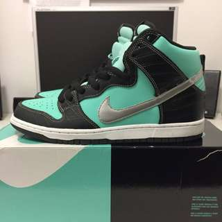 Nike Dunk High Sb Tiffany Size 10