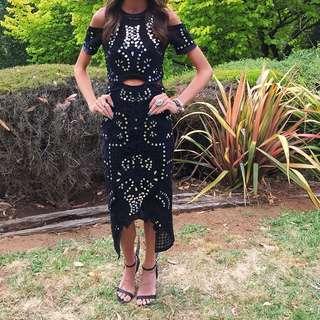 Thurley Black Sequin Dress