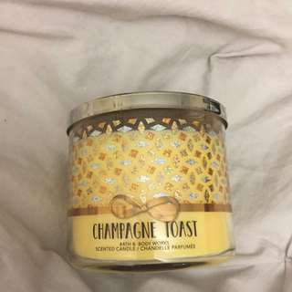 Bath And Body Works Candle In Champagne Toast