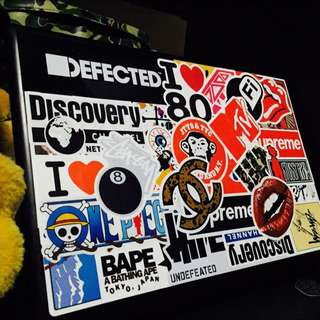 Sticker Waterproof High Quality - Stickerbomb Laptop Stickers By Our Customers ** :)