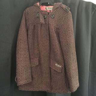 Rusty Winter Coat Sz12