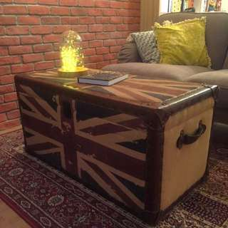 Union Jack Chest Coffee Table
